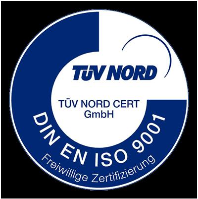 Werler Modellbau GmbH - TÜV Nord Zertifizierung